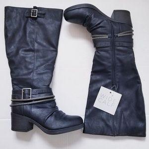 🆕️ Carlos by Carlos Santana Wide Calf Black Boots